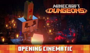 Tráiler Minecraft Dungeons MineCon Live 2019