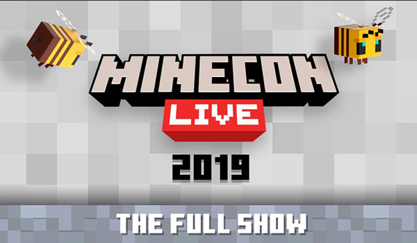 Vídeo MineCon Live 2019