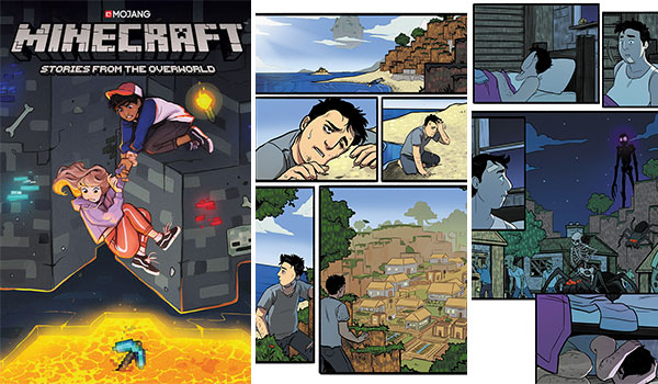 Cómic Minecraft: Stories From The Overworld