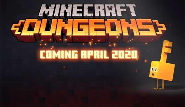 Fecha lanzamiento Minecraft Dungeons