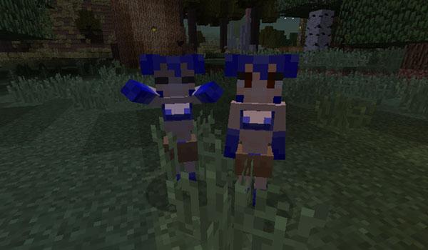 Imagen donde podemos ver dos gemas que añade el mod JapariCraft 1.14.3 y 1.14.4.