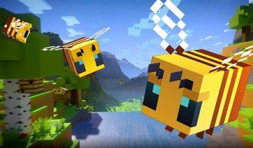 Minecraft 1.14.0 Buzzy Bees