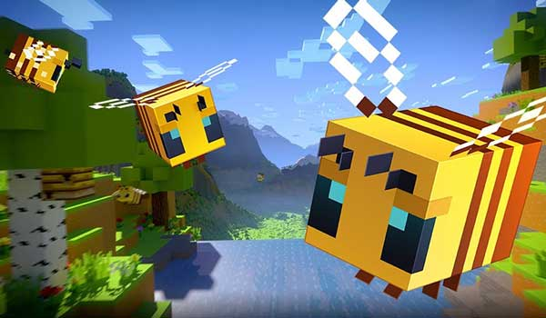 Minecraft 1.14.0 Buzzy Bees