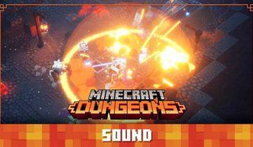 Vídeo sobre el sonido de Minecraft Dungeons