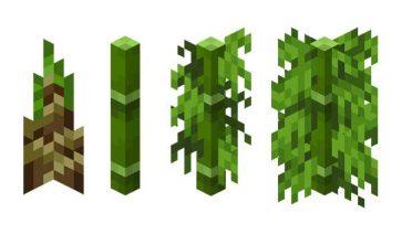 Bambú Minecraft