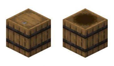 Barril Minecraft
