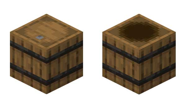 Barril Minecraft