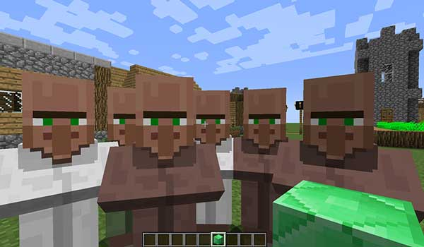 Following Villagers 1.15