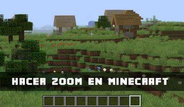 Zoom Minecraft