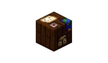 Mesa de cartografía Minecraft