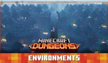 Escenarios de Minecraft Dungeons