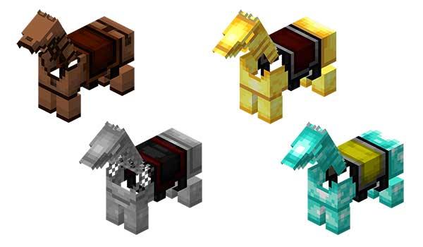 Armadura de caballo Minecraft