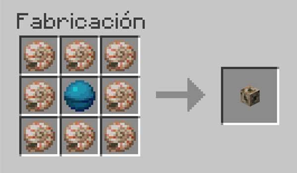 Receta para hacer un canalizador en Minecraft