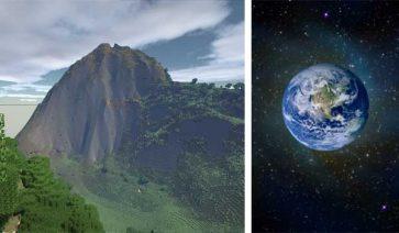 Proyecto recrear la Tierra en Minecraft