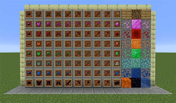 Ecnanos More Armor & Tools 1.15.2