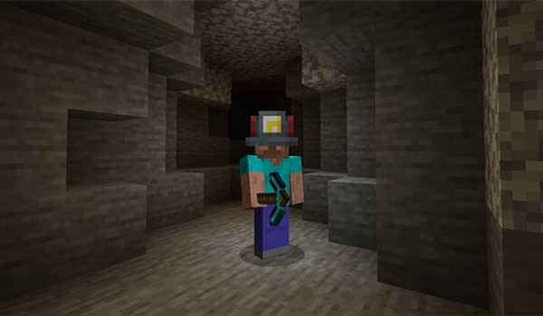 Miner's Helmet 1.16.1, 1.16.2 y 1.16.3