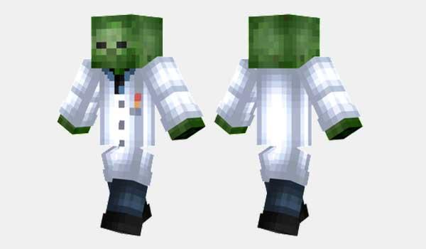 Scientist Zombie Skin