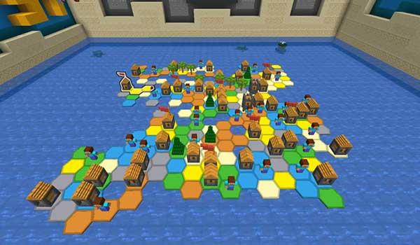 Imagen donde podemos ver el tablero de juego que nos propone el mapa Slay 1.15 y 1.14.