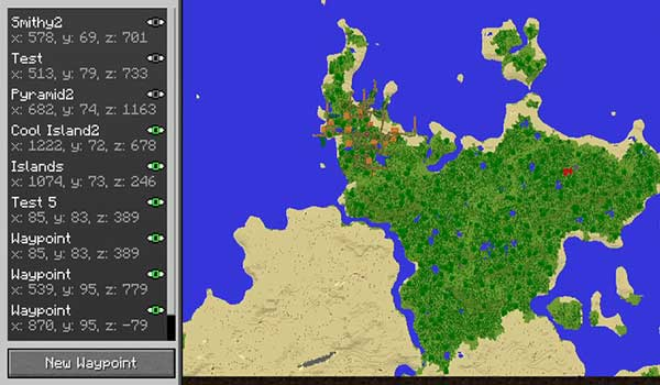 Travellers Map 1.16.1