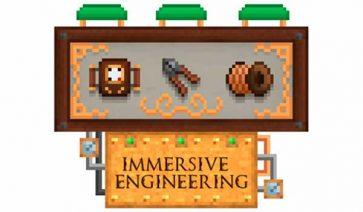 Immersive Engineering 1.16.1, 1.16.3, 1.16.4 y 1.16.5