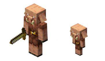 Piglins Minecraft