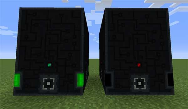 Imagen donde podemos ver los nuevos generadores que añade el mod Powah Mod 1.16.1, 1.16.3, 1.16.4 y 1.16.5