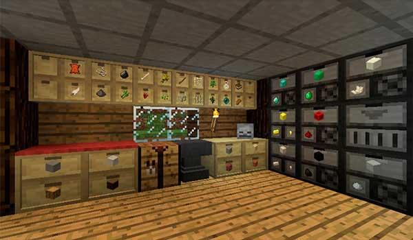 Storage Drawers 1.16.1 y 1.16.2