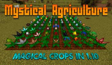 Mystical Agriculture 1.16.1, 1.16.3, 1.16.4 y 1.16.5