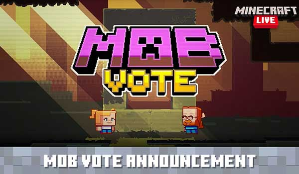 Presentación de las criaturas que se votarán en Minecraft Live 2020