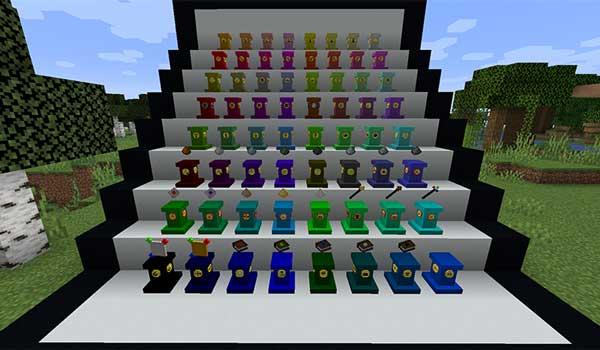Pedestals 1.16.1, 1.16.2, 1.16.3 y 1.16.4