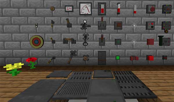 Redstone Gauges and Switches 1.16.1, 1.16.2, 1.16.3, 1.16.4 y 1.16.5