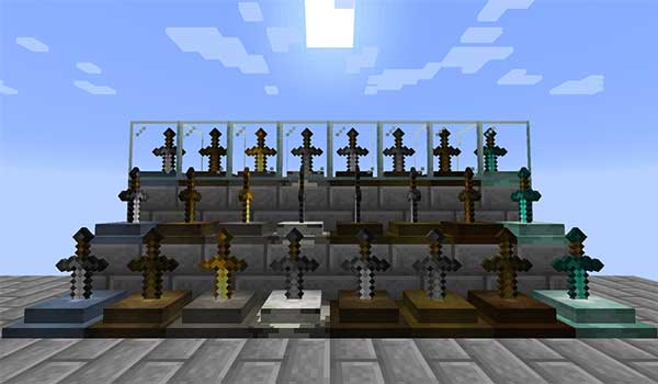 Sword Displays 1.16.1, 1.16.2 y 1.16.3