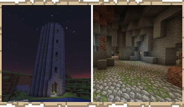 Dungeons Plus 1.16.1, 1.16.3, 1.16.4 y 1.16.5