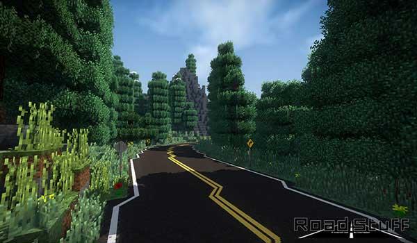 Road Stuff 1.16.1 y 1.16.3