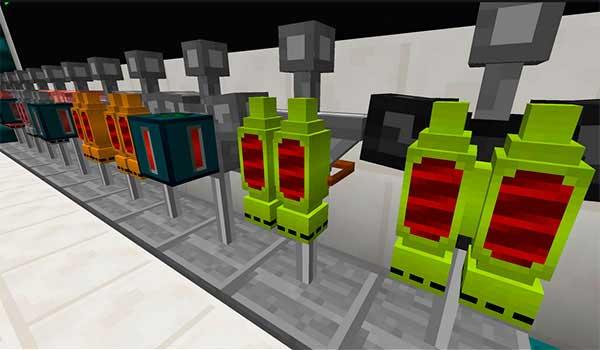 Imagen donde podemos ver loa Jetpacks y los Fluxpacks que podremos fabricar con el mod Simply Jetpacks 1.16.1 y 1.16.3.