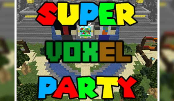 Super Voxel Party Map