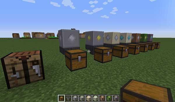Imagen donde podemos ver los diversos tipos de generadores que nos ofrece el mod Ultimate Skyblock Generator 1.16.1, 1.16.2, 1.16.3, 1.16.4 y 1.16.5.