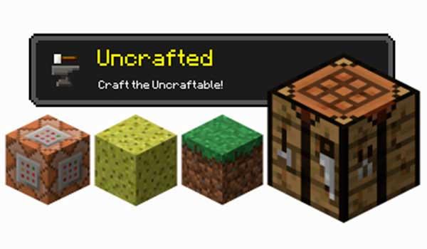 Uncrafted 1.16.1, 1.16.2 y 1.16.3