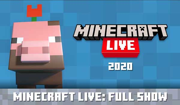 Vídeo Minecraft Live 2020