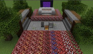 Basic Nether Ores 1.16.1, 1.16.2, 1.16.3 y 1.16.4