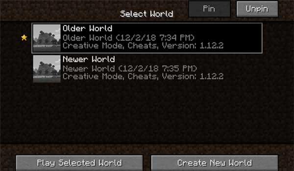 Cherished Worlds 1.16.1, 1.16.2, 1.16.3 y 1.16.4