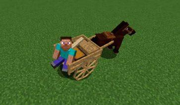 Horse Cart 1.16.3 y 1.16.4