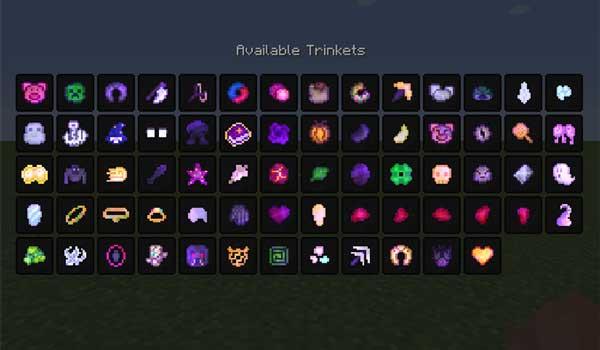 Lost Trinkets 1.16.1, 1.16.2, 1.16.3, 1.16.4 y 1.16.5