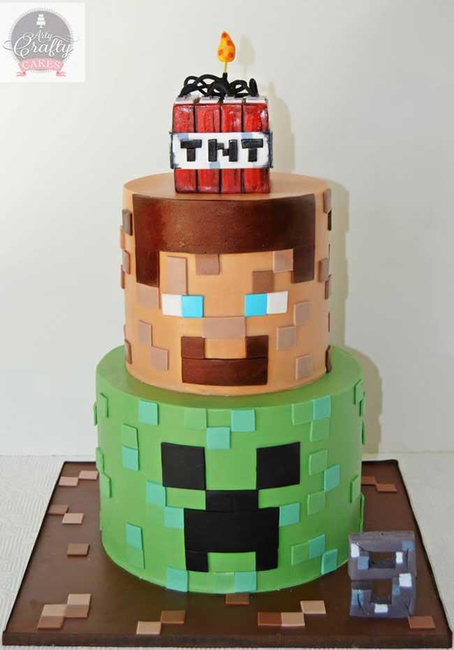 8 Tortas de Minecraft a las que hincar el diente   MineCrafteo