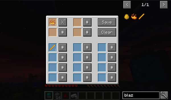 Imagen donde podemos ver en acción a una de las diversas calculadoras que nos ofrece el mod Just Enough Calculation 1.16.4 y 1.16.5.