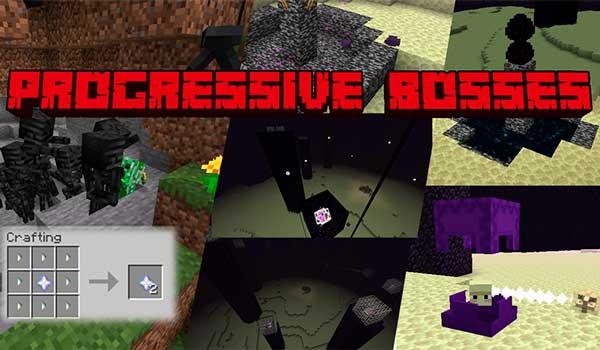 Progressive Bosses 1.16.1, 1.16.2, 1.16.3, 1.16.4 y 1.16.5