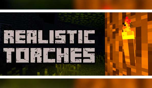 Realistic Torches 1.16.4