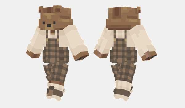 Big Teddy Bear Skin