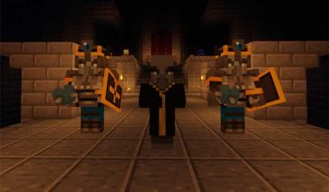 Dungeons Mobs 1.16.1, 1.16.2, 1.16.3 y 1.16.4