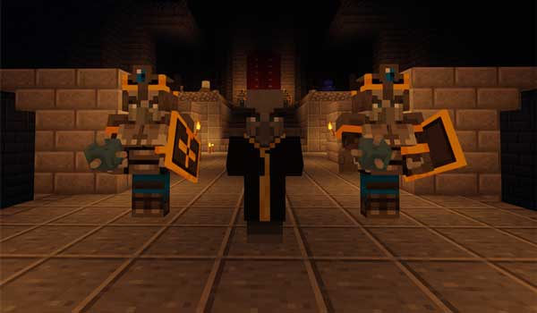Dungeons Mobs 1.16.1, 1.16.2, 1.16.3, 1.16.4 y 1.16.5